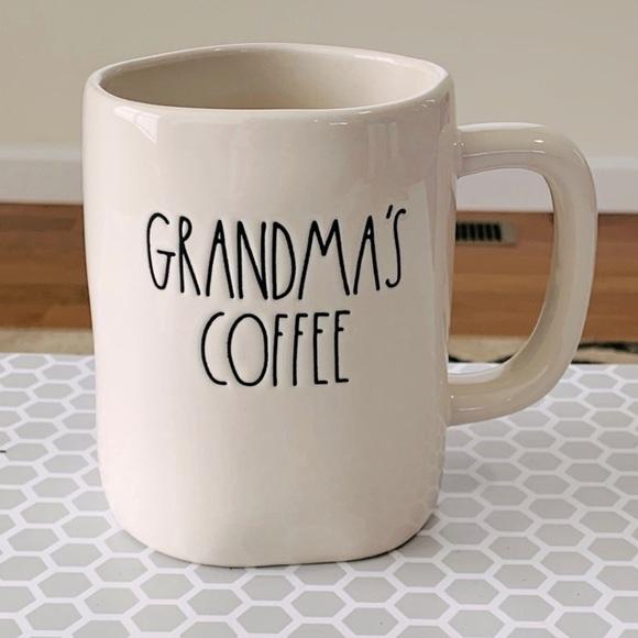 Rae Dunn GRANDMA'S COFFEE mug